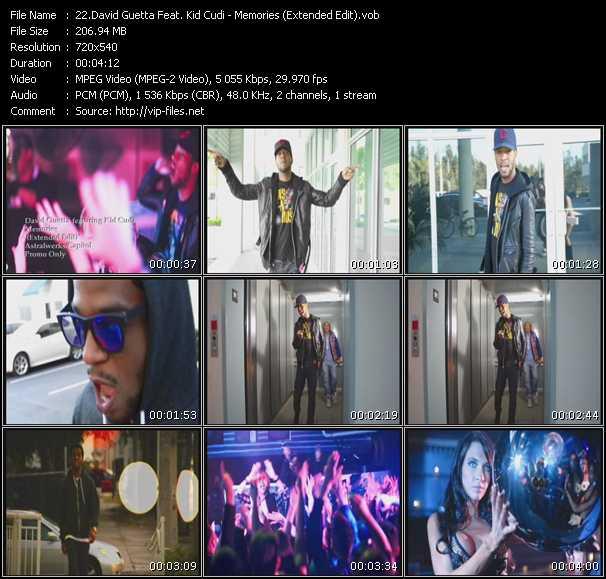 David Guetta Feat. Kid Cudi - Memories (Extended Edit)
