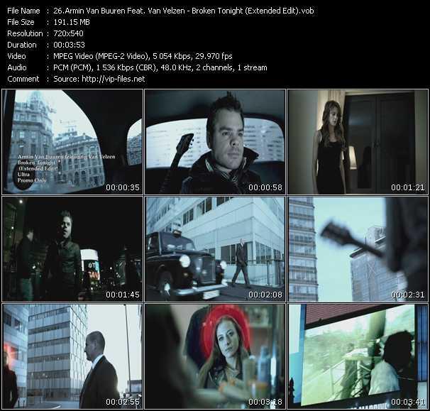 Armin Van Buuren Feat. VanVelzen - Broken Tonight (Extended Edit)