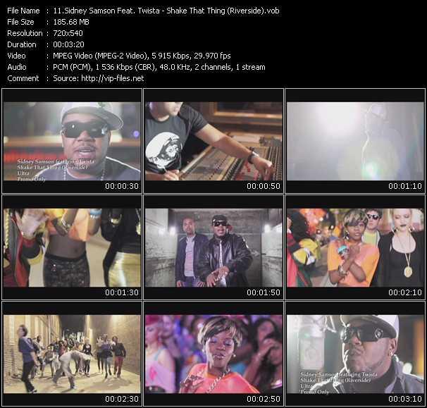 Sidney Samson Feat. Twista - Shake That Thing (Riverside)