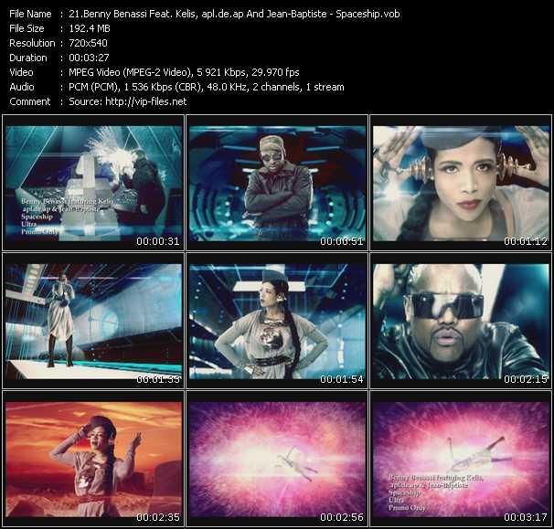 Benny Benassi Feat. Kelis, Apl.De.Ap And Jean-Baptiste - Spaceship