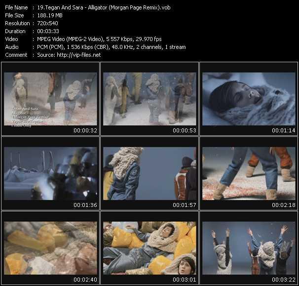 Tegan And Sara - Alligator (Morgan Page Remix)