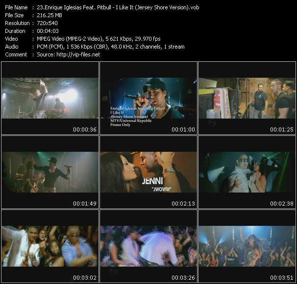 Enrique Iglesias Feat. Pitbull - I Like It (Jersey Shore Version)