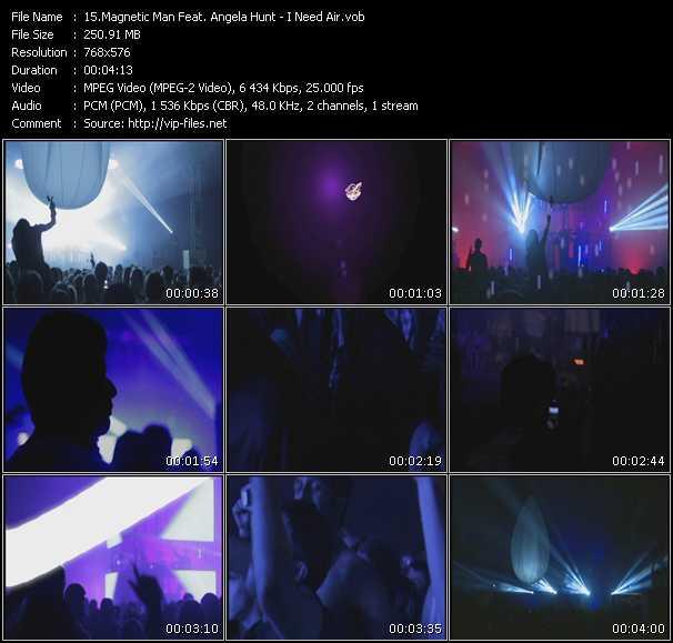 Magnetic Man Feat. Angela Hunt - I Need Air