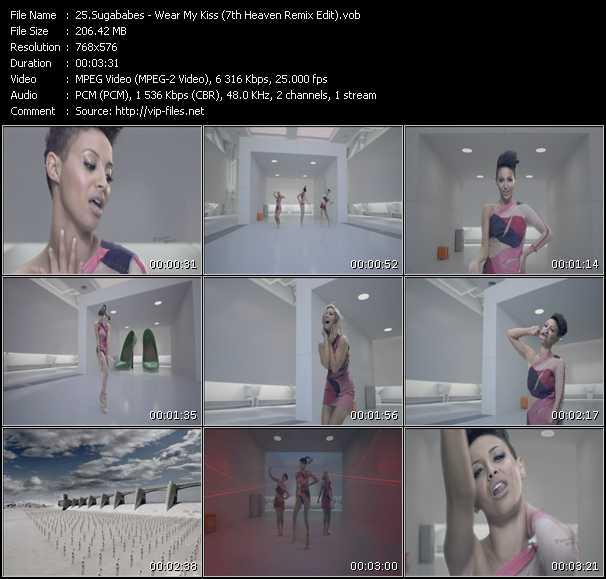 Sugababes - Wear My Kiss (7th Heaven Remix Edit)