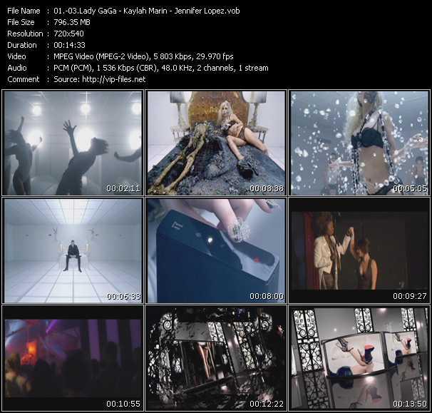 Lady GaGa - Kaylah Marin - Jennifer Lopez - Bad Romance (Chew Fu H1N1 Fix) - On The Floor (Oh Baby Please) (Josh Harris Club) - Fresh Out The Oven (Karmatronic Remix Edit)