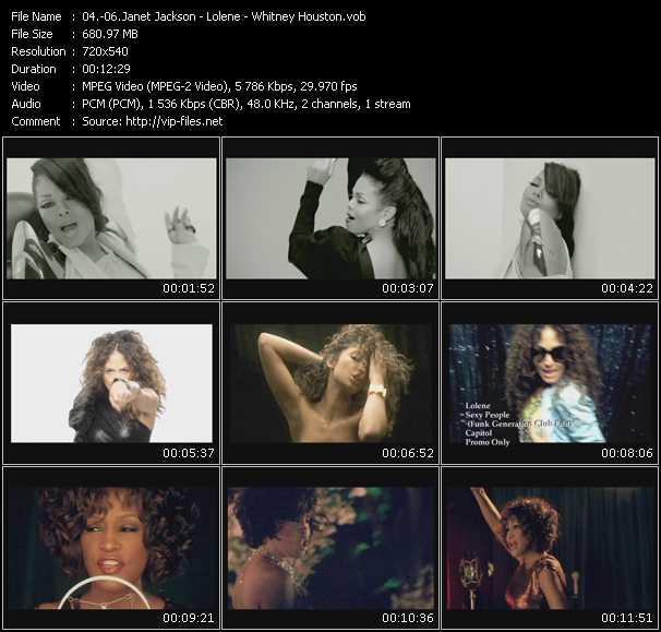 Janet Jackson - Lolene - Whitney Houston - Make Me - Sexy People (Funk Generation Club Edit) - Million Dollar Bill (Freemasons Mixshow Edit)