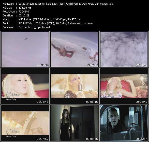 Shaun Baker Vs. Laid Back - Jes - Armin Van Buuren Feat. Van Velzen - Bakerman - Love Song (Extended Mix) - Broken Tonight