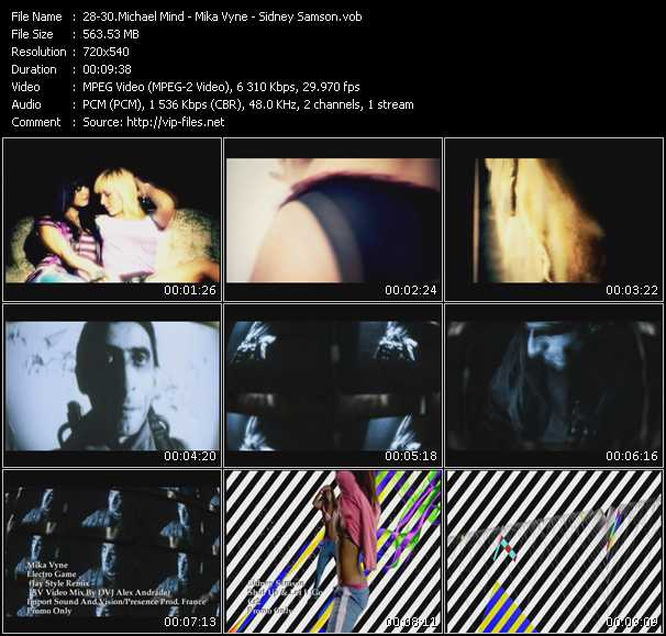 Michael Mind - Mika Vyne - Sidney Samson - Baker Street - Electro Game (Jay Style Remix) (ISV Video Mix By DVJ Alex Andrade) - Shut Up And Let It Go