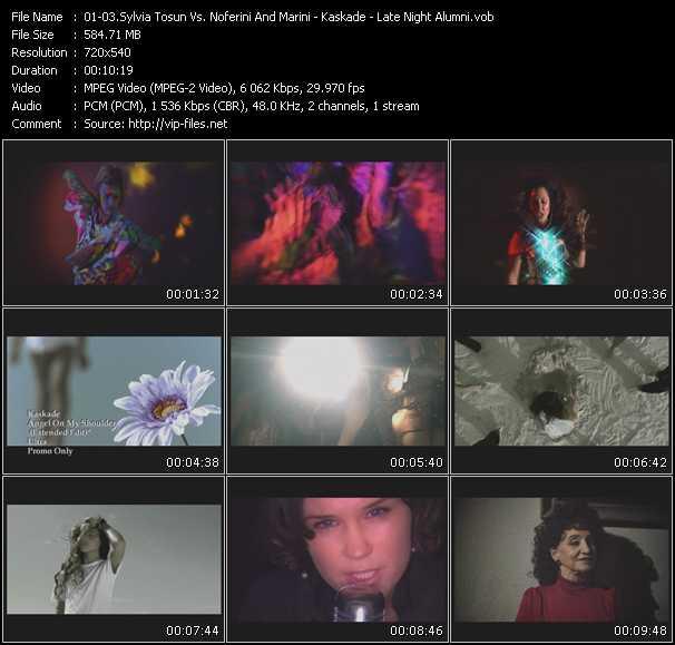 Sylvia Tosun Vs. Noferini And Marini - Kaskade - Late Night Alumni - Push N Pull (Extended Edit) - Angel On My Shoulder (Extended Edit) - Finally Found
