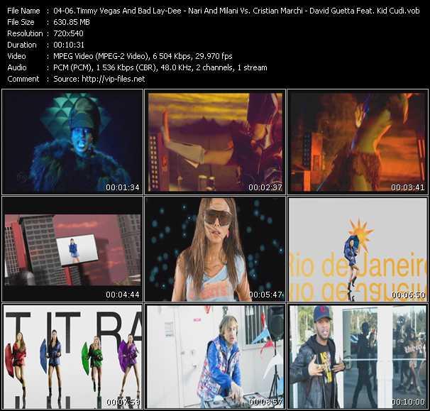 Timmy Vegas And Bad Lay-Dee - Nari And Milani Vs. Cristian Marchi Feat. Max'C - David Guetta Feat. Kid Cudi - Another Dimension (Original Club Edit) - Let It Rain (Extended Edit) - Memories