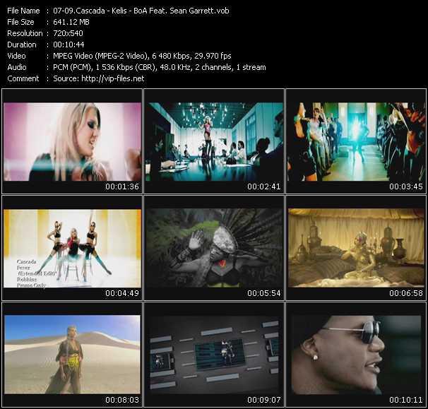 Cascada - Kelis - BoA Feat. Sean Garrett - Fever (Extended Edit) - Acapella - I Did It For Love (DJ Escape And Johnny Vicious Main Edit)