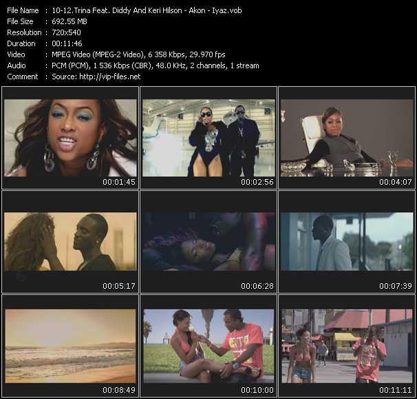 Trina Feat. P. Diddy (Puff Daddy) And Keri Hilson - Akon - Iyaz - Million Dollar Girl (Jason Nevins-Ultimix Remix By Mark Roberts) - Right Now (Na Na Na) - Replay (Jason Nevins-Ultimix Remix By Mark Roberts)