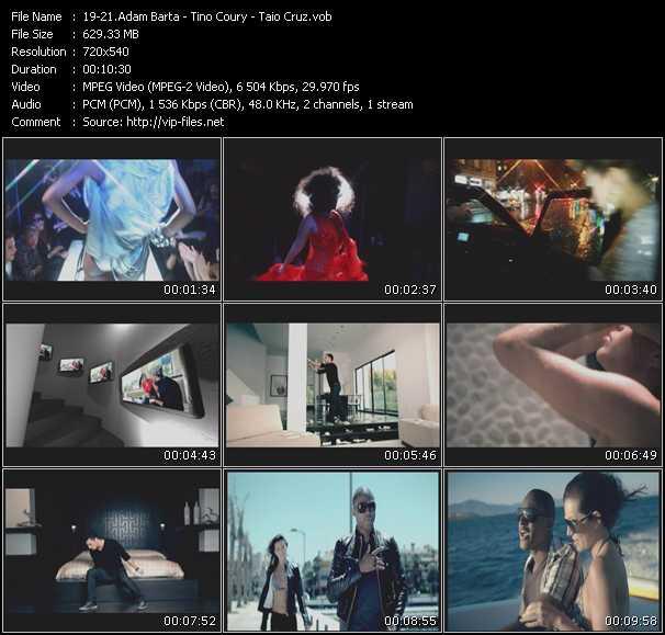 Adam Barta - Tino Coury - Taio Cruz - V.I.P. (Extended Edit) - Diary (Extended Edit) - Break Your Heart