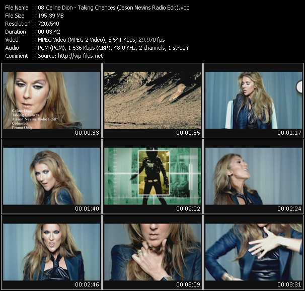 Celine Dion - Taking Chances (Jason Nevins Radio Edit)