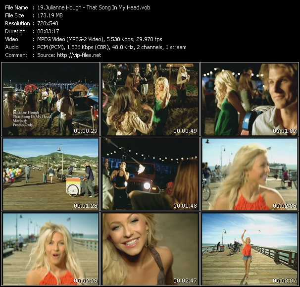 Julianne Hough - That Song In My Head