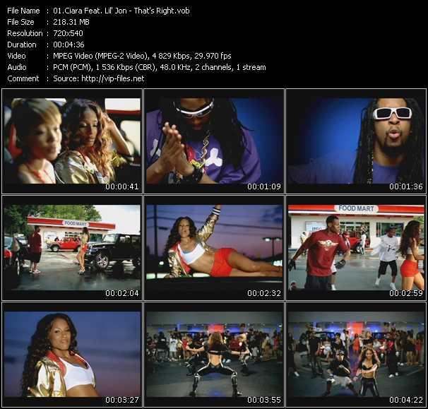 Ciara Feat. Lil' Jon - That's Right