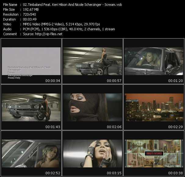 Timbaland Feat. Keri Hilson And Nicole Scherzinger - Scream
