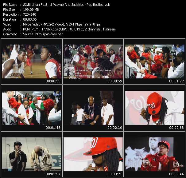 Birdman Feat. Lil' Wayne And Jadakiss - Pop Bottles