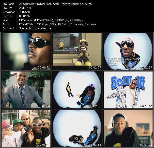 Soulja Boy Tell 'Em Feat. Arab - Yahhh!-Report Card