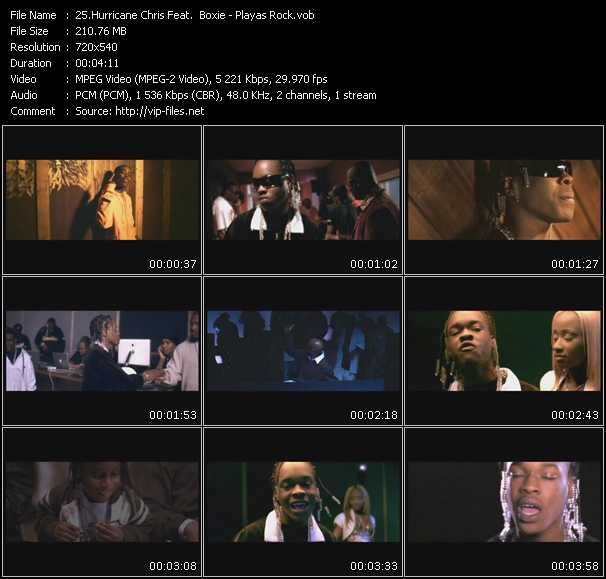Hurricane Chris Feat. Boxie - Playas Rock
