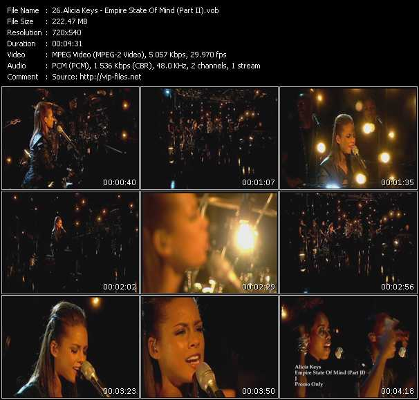 Alicia Keys - Empire State Of Mind (Part II)