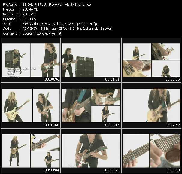 Orianthi Feat. Steve Vai - Highly Strung