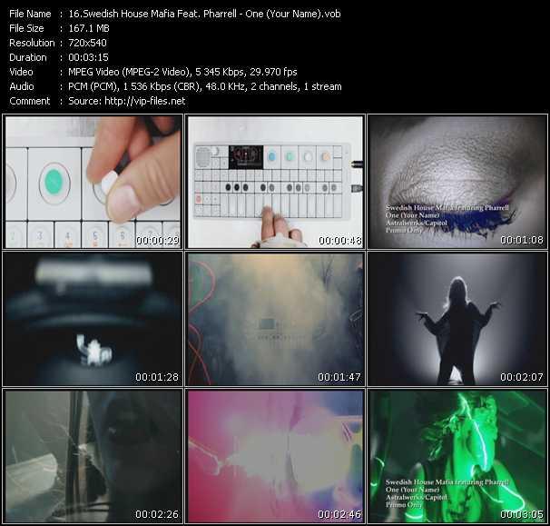 Swedish House Mafia Feat. Pharrell Williams - One (Your Name)