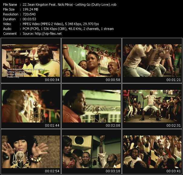 Sean Kingston Feat. Nicki Minaj - Letting Go (Dutty Love)