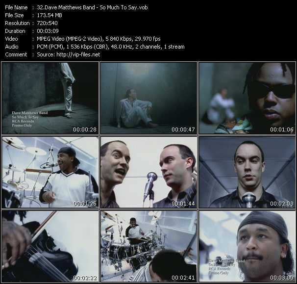 Dave Matthews Band - So Much To Say
