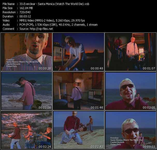 Everclear - Santa Monica (Watch The World Die)