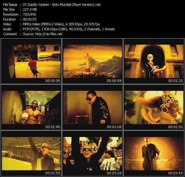 Daddy Yankee - Grito Mundial (Short Version)