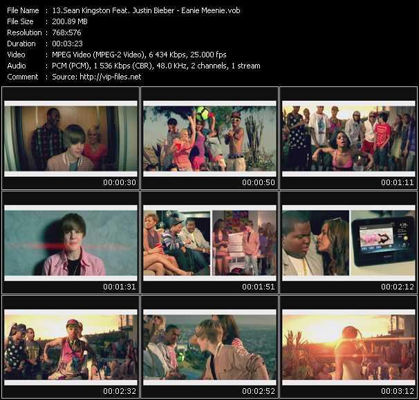 Sean Kingston Feat. Justin Bieber - Eanie Meenie