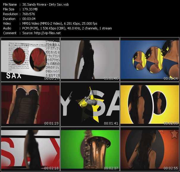 Sandy Rivera - Dirty Sax