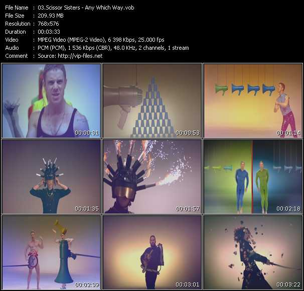 Scissor Sisters - Any Which Way