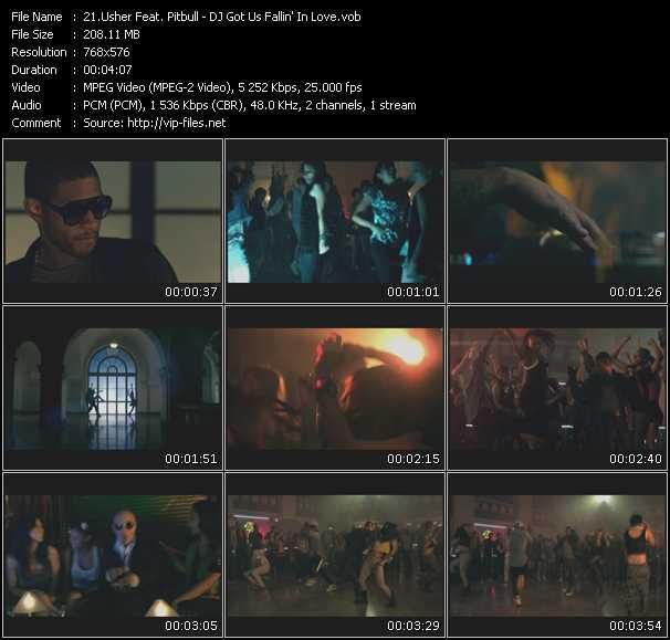 Usher Feat. Pitbull - DJ Got Us Fallin' In Love
