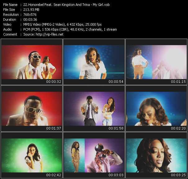 Honorebel Feat. Sean Kingston And Trina - My Girl