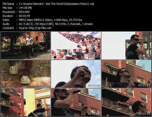 Houston Bernard - See The World (Klubjumpers Remix)