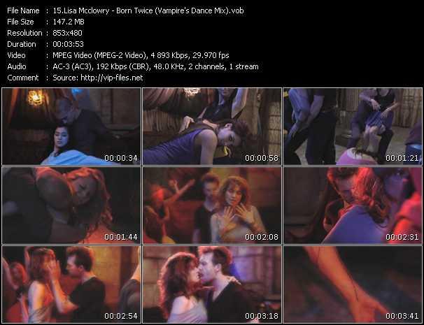 Lisa Mcclowry - Born Twice (Vampire's Dance Mix)