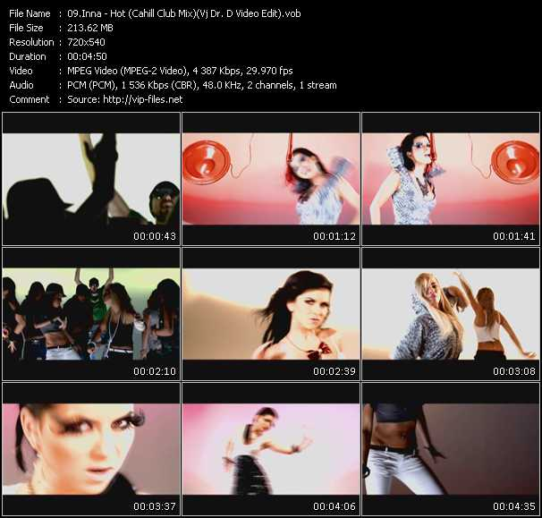 Inna - Hot (Cahill Club Mix) (Vj Dr. D Video Edit)