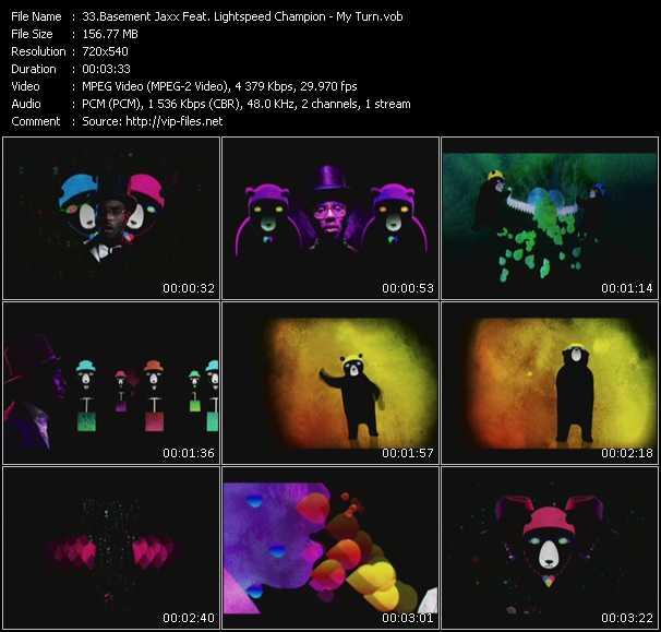 Basement Jaxx Feat. Lightspeed Champion - My Turn