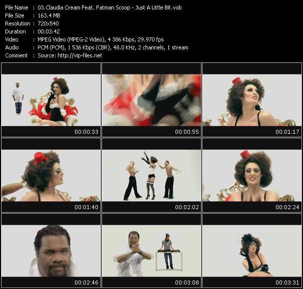 Claudia Cream Feat. Fatman Scoop - Just A Little Bit
