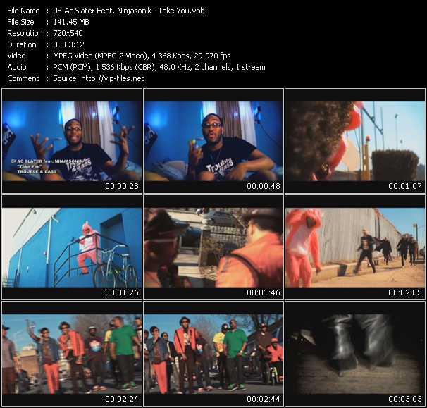 Ac Slater Feat. Ninjasonik - Take You
