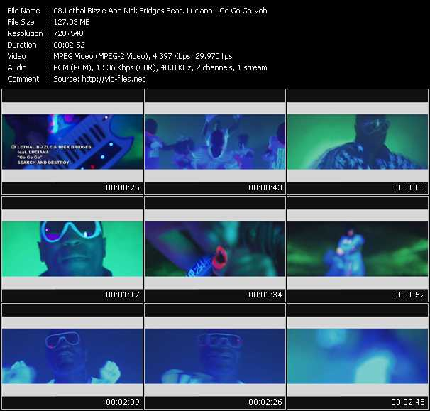 Lethal Bizzle And Nick Bridges Feat. Luciana - Go Go Go