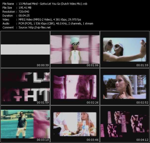 Michael Mind - Gotta Let You Go (Dutch Video Mix)