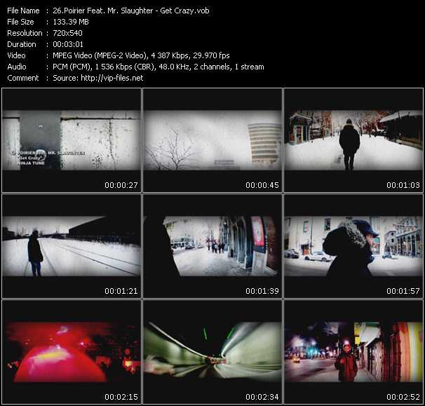 Poirier Feat. Mr. Slaughter - Get Crazy