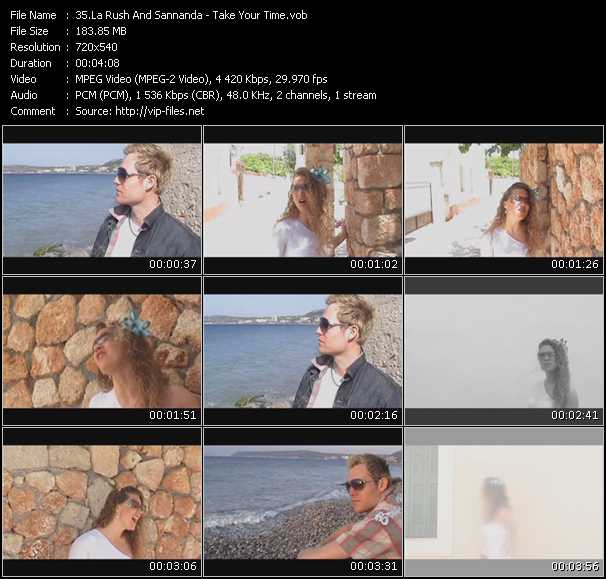 La Rush And Sannanda - Take Your Time