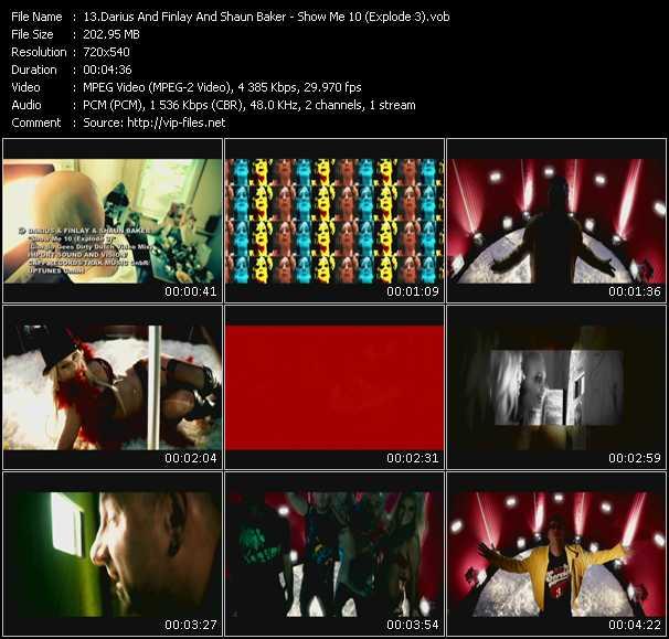 Darius And Finlay And Shaun Baker - Show Me 10 (Explode 3) (Giorgio Gees Dirty Dutch Video Mix)