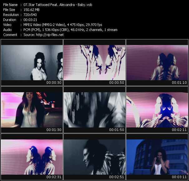 Star Tattooed Feat. Alexandra - Baby