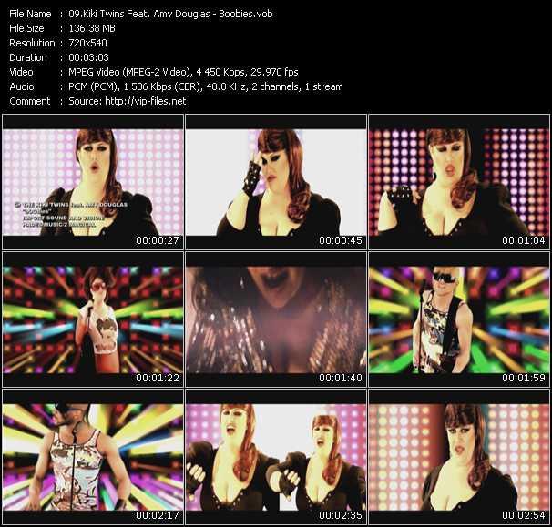Kiki Twins Feat. Amy Douglas - Boobies