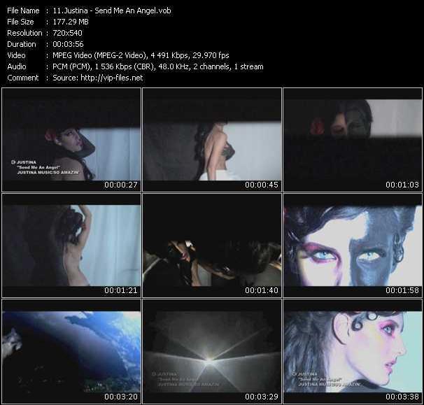 Justina - Send Me An Angel